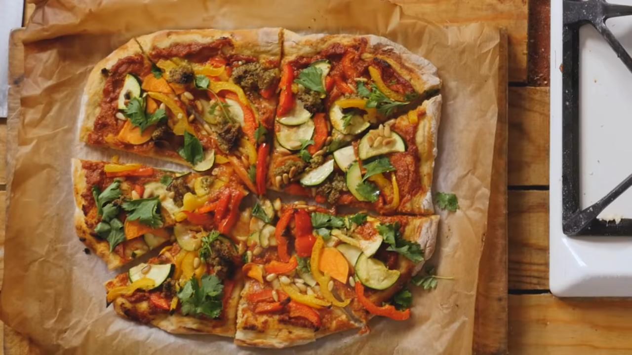 Recept za zdravu vegansku picu