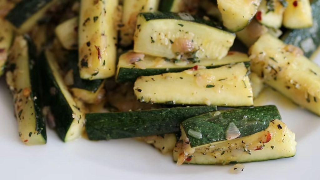 Recept za salatu od prženih tikvica