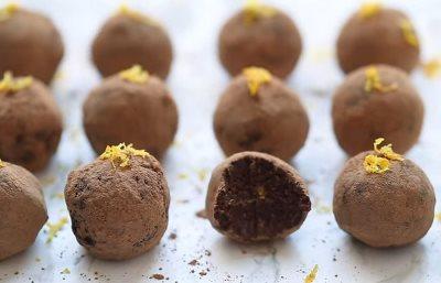 Recept za kuglice od čokolade i pomorandže