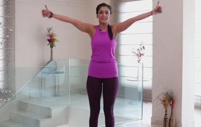 Joga vežbe za mršavljenej ruku od 10 minuta