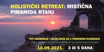 Holistički RETREAT mistična piramida RTANJ