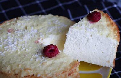 Torta nežna pahuljica sa sirom i kokosom