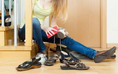Feng šui pravilo kako ne treba držati cipele u kući_160786904