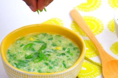 supa sa spanacem recept